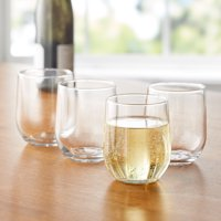 Mainstays 16.8-Ounce Stemless Wine Glasses, Set of 12