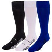673b5fd03 3 Pack LISH Men's Elite Over-The-Calf Football Socks - Athletic Crew Socks
