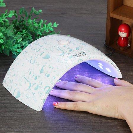 Fdit Led Light Nail Dryer,US Plug 36W UV Led Light Nail Dryer Gel Polish Curing Lamp Auto Sensor Manicure,Gel Polish Curing Lamp ()