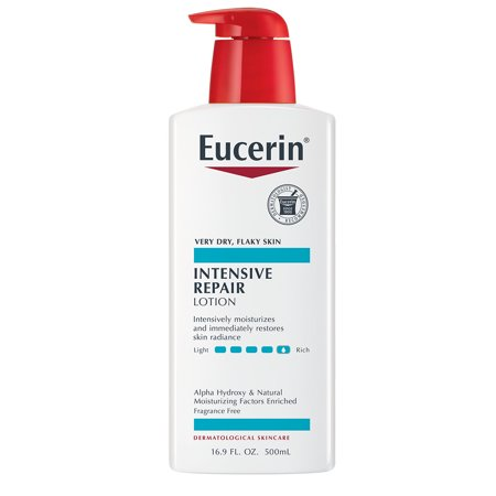 Eucerin Intensive Repair Very Dry Skin Lotion 16.9 fl. (Best Lotion For Very Itchy Skin)