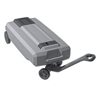 SmartTote2 LX Portable RV Waste Tote Tank / 4 Wheels / 35-Gallon Capacity - Thetford 40519