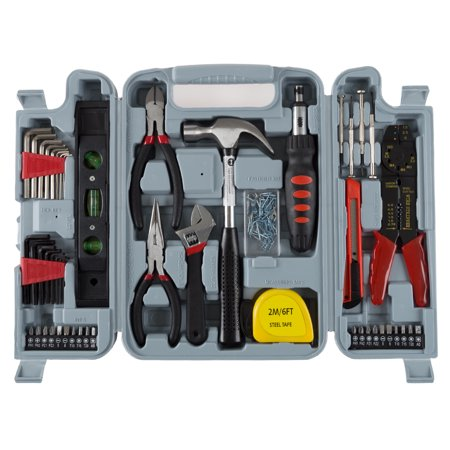 Stalwart 130 Piece Household Hand Tool - 10 Piece Insulated Tool Kit