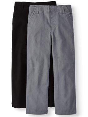 Solid Woven Chino Pants, 2-pack (Little Boys & Big Boys)