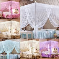 Moderna Romantic Princess Lace Canopy Mosquito Net No Frame for Twin Full Queen King Bed