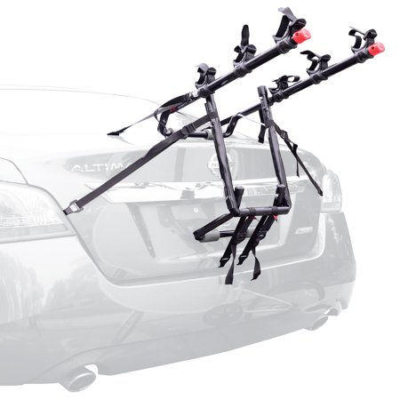 Allen Sports Deluxe 3-Bicycle Trunk Mounted Bike Rack Carrier, 103DN - Mazda 3 Bike Rack