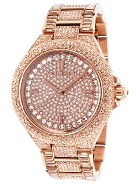 Women's Camile Crystal Rose-Tone Stainless Steel Rose-Tone Dial