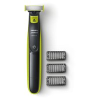 Philips Norelco OneBlade Hybrid Electric Trimmer and Shaver, QP2520/70