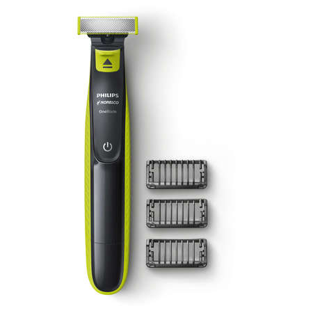 Philips Norelco OneBlade (Rebate Available up to $15) Hybrid Electric Trimmer and Shaver, QP2520/70