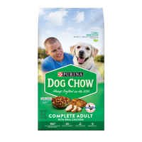 Purina Dog Chow Complete With Real Chicken Adult Dry Dog Food - 4.4 lb. Bag
