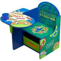Teenage Mutant Ninja Turtles Chair Desk with Storage Bin by Delta Children