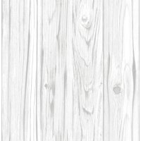 White Barnboard Peel & Stick Wallpaper