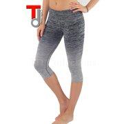 TD Collections Three-quarter Tights Capri Yoga Sport Workout Leggings Pants