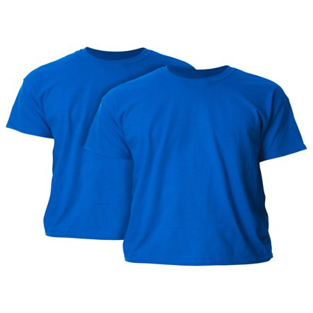 Men's and Men's Big Ultra Cotton T-Shirt, 2-Pack, up to size 5XL ()