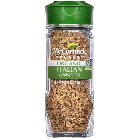 McCormick Gourmet Organic Italian Seasoning, 0.55 oz
