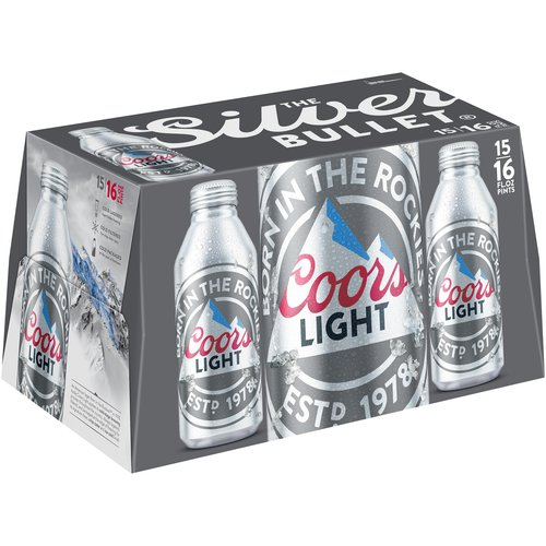 Coors Light Beer, 15 pack, 16 fl oz