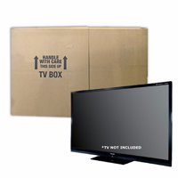 Uboxes TV Moving Box, Up to 70in, 6in Wide