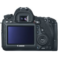 Canon EOS Black 6D Digital SLR Camera with 20.2 Megapixels (Body Only)