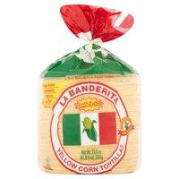 La Banderita Yellow Corn Tortillas, 73.4 oz