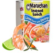 (12 Packs) Maruchan Lime with Shrimp Instant Lunch, 2.25 oz