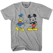 Disney Mickey Mouse Donald Duck Cool Disneyland World Tee Funny Humor Adult  Mens Graphic T- 8107964a00fdb