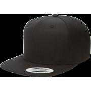The Hat Pros Snapbacks Flexfit Pro-Style Snapback Hats w/ Green Underbill 6089M (Black)