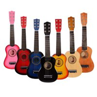 "Zimtown New 21"" 23"" 25"" 6 Strings Beginner Practice Acoustic Guitar Musical Instrument Child Kids Gift"