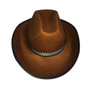 776d4ed80e2 Adult Cowboy Brown Hat By Dress Up America