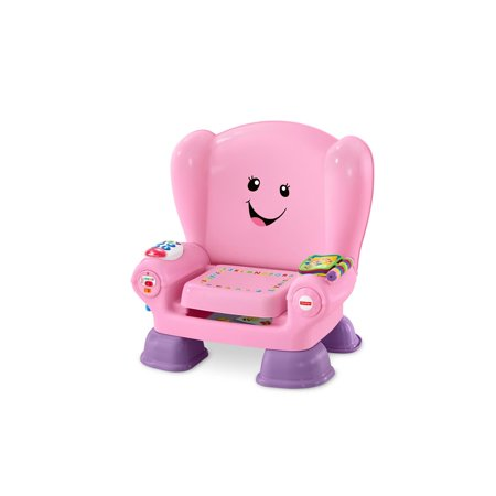 Learn 1 Trio Book - Fisher-Price Laugh & Learn Smart Stages Chair, Pink