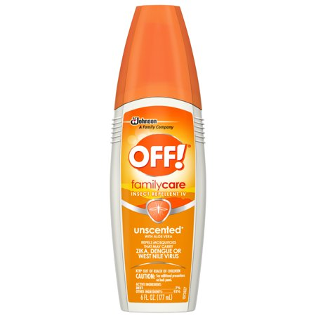 OFF! FamilyCare Insect Repellent IV, Unscented, 6 fl (Bug Off Animals)