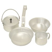 Coleman Aluminum Mess Kit, 5-Piece