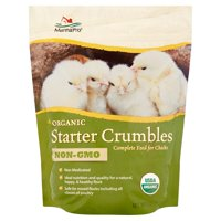 Manna Pro Organic Starter Crumbles Chicken Feed, 5 lbs.