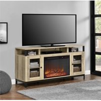 "Ameriwood Home Paradox Fireplace TV Stand for TVs up to 65"" Natural"