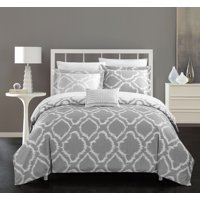 Chic Home Asya 4 Piece Reversible Duvet Cover Set