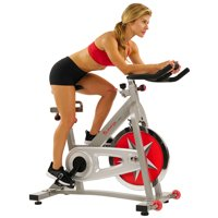 Sunny Health & Fitness SF-B901 Indoor Cycling Exercise Bike with 40 lb. Flywheel