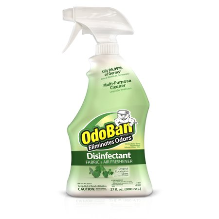 OdoBan Original Eucalyptus Scent Disinfectant Fabric & Air Freshener, 27 fl oz - Natural Fabric Freshener