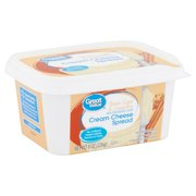 Great Value Brown Sugar & Cinnamon Cream Cheese Spread, 8 oz