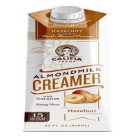 (3 Pack) Califia Farms Hazelnut Creamer 32 fl oz