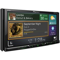 """Pioneer AVH-600EX 7"""" Double-DIN In-Dash DVD Receiver with Bluetooth & SiriusXM Ready"""