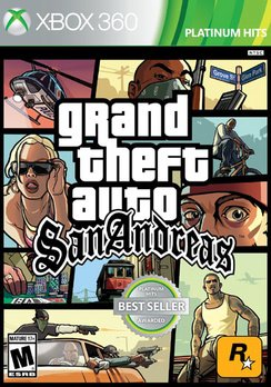 Grand Theft Auto: San Andreas, Rockstar Games, Xbox 360, 710425495649 - Gta 5 No Halloween