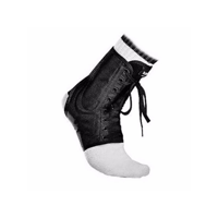 McDavid Classic Logo 199 Level 3 Ankle Brace Lace-up With Stays Black Size Medium