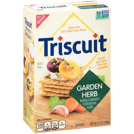 Nabisco Triscuit Garden Herb Crackers, 8.5 Oz. (Herb Flatbread)