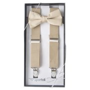 5d877e1f2dee Sportoli Boys' and Girls' Kids Toddlers and Baby Adjustable Elastic Solid Color  Fashion Suspenders