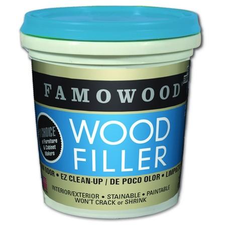 Famowood Wood Filler - FamoWood Latex Wood Filler - Pint, Oak