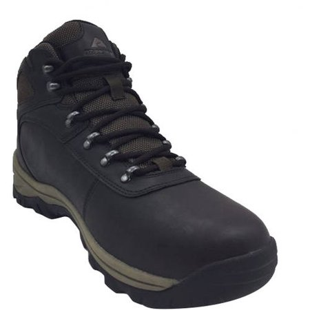 Hiking Leather Hiking Boots (Ozark Trail Men's Bronte Mid Waterproof Hiking Boot )