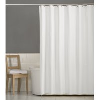 "Mainstays Water Repellent Fabric Shower Curtain or Liner 72"" x 70"""