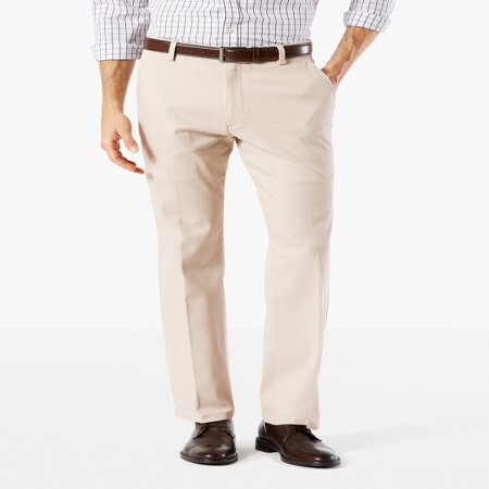 Men's Straight Fit Easy Khaki with Stretch (Dockers Washed Chino)
