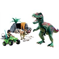 PLAYMOBIL Explorer Quad With T-Rex