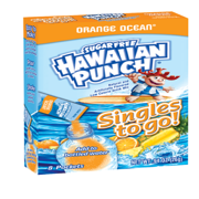 Hawaiian Punch Singles To-Go Orange Drink Mix, 0.92 Oz., 8 Packet