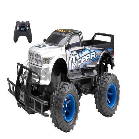 - New Bright 1:15 Scale Radio Control 6.4v MOPAR Ram