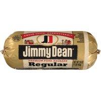 Jimmy Dean Premium Regular Pork Sausage Roll, 16 Oz.